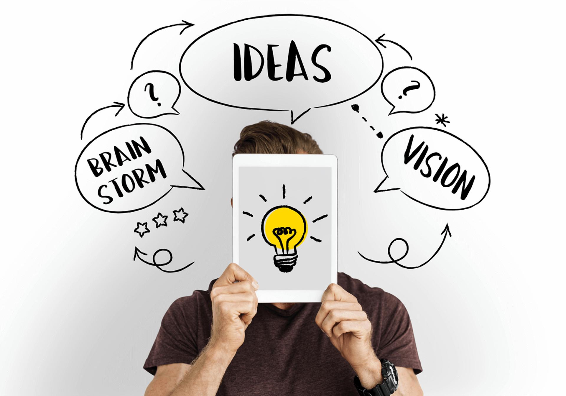Van brainstorm naar een krachtige online visie
